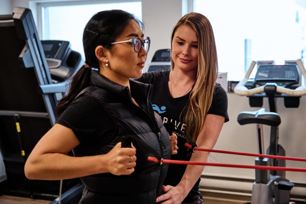 Physiotherapists at Strive Health and Performance
